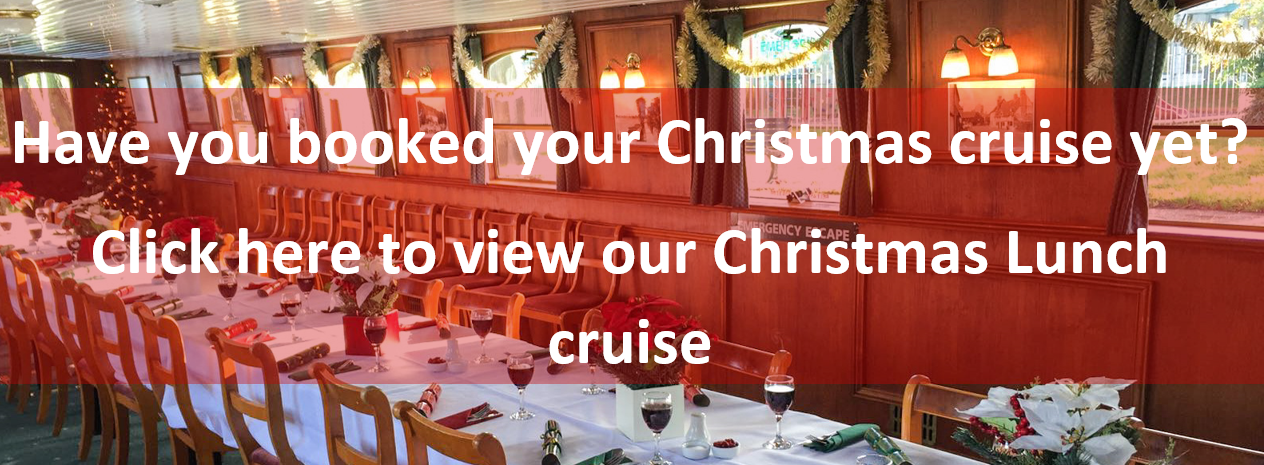 day excursions Windsor Christmas Lunch Cruise