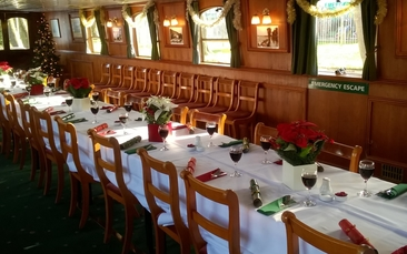 Day excursions Christmas lunch cruise