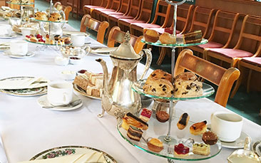 Day excursions afternoon tea