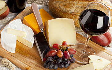 Day excursions cheese and wine
